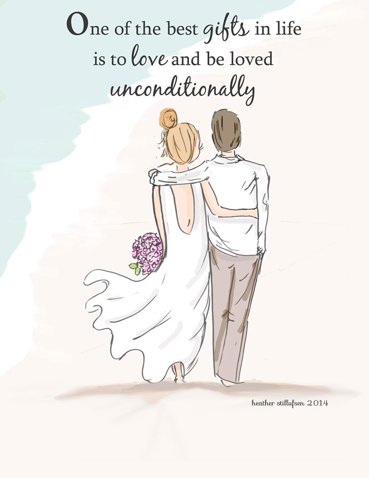 One of the best gifts in life is to love and be loved unconditionally.