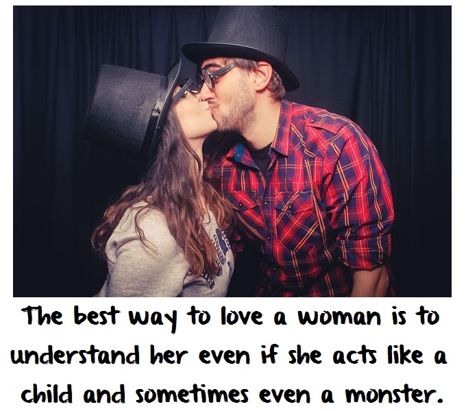 best way to love a woman