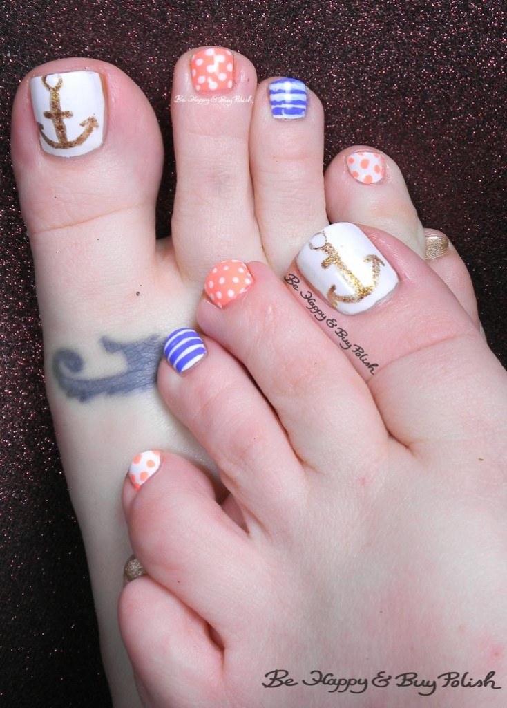 Toe Nail Designs Nautical: The best sailor nails ideas on nautical.