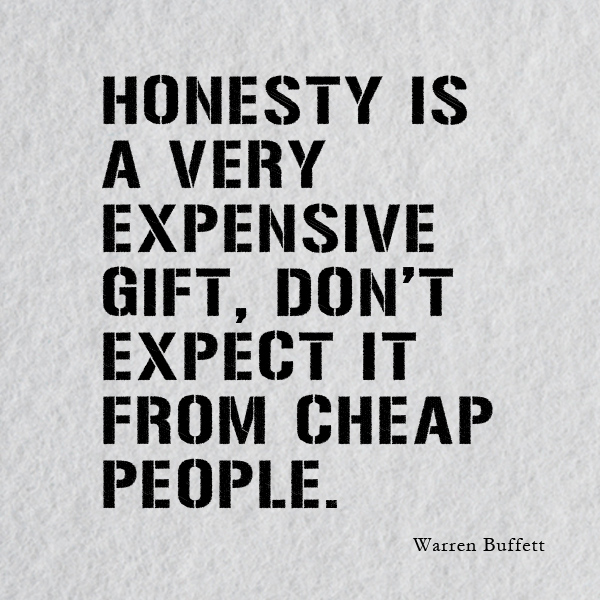 Honest Quotes Gorgeous Honesty Quotes