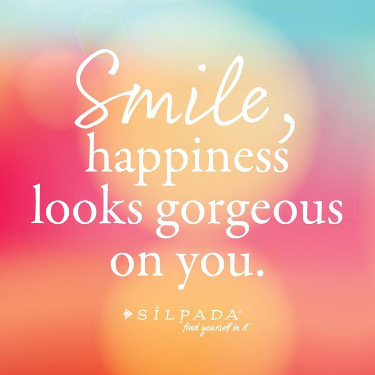 Quotes About Happiness Custom Smile Happiness Looks Gorgeous On You